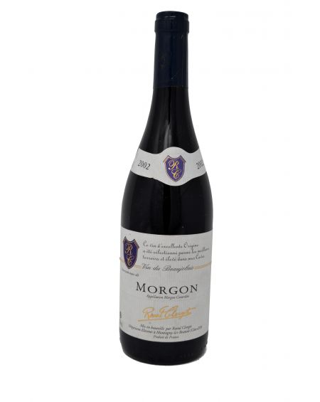 MORGON BEAUJOLAIS RAOUL CLERGET 2002